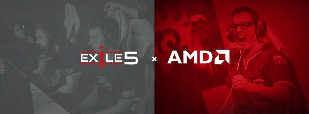 Team Exile5 & AMD join forces