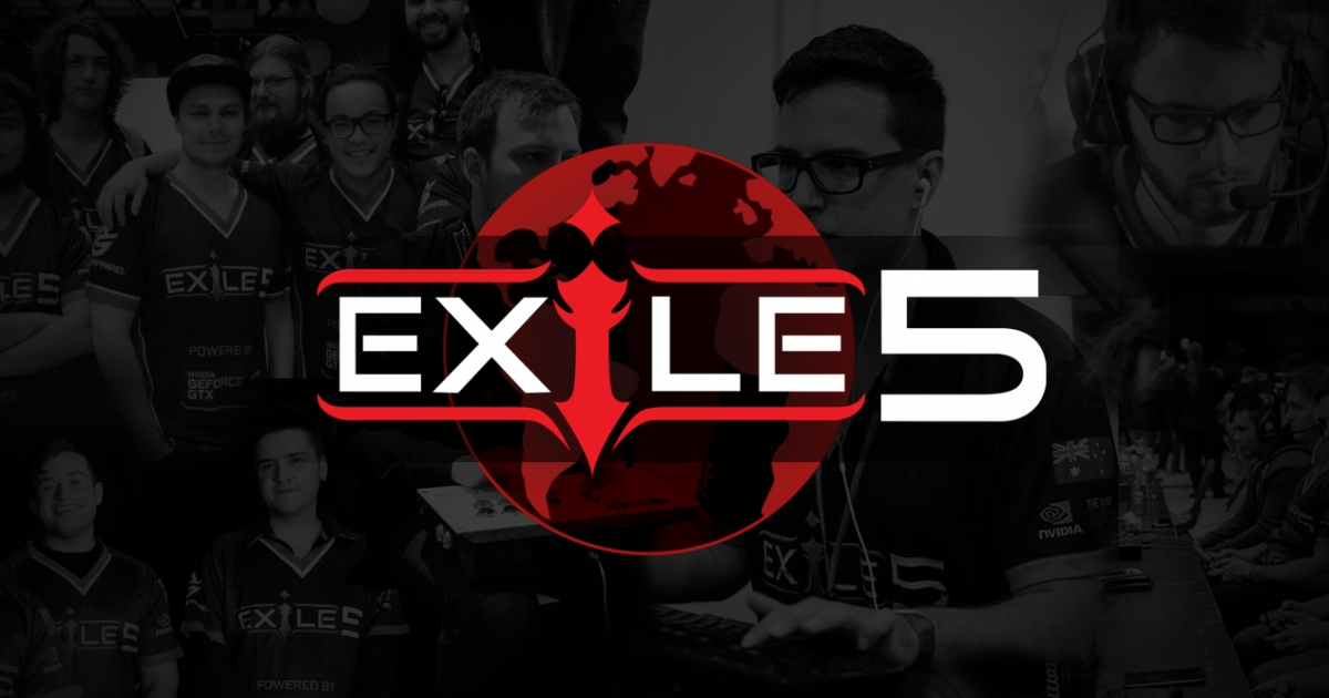 Exile5's  StarCraft 2 Division is Going Global!